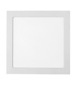 Painel LED embutir quadrado 24W 4000K 27cm Stella