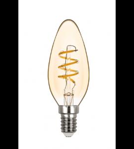 Lâmpada Vela Filamento LED 2,5W 2400K Stella