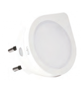 Luz Noturna LED 0,4W 6000K