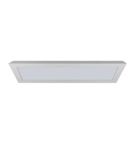 Painel LED sobrepor retangular 120x20cm 36W 4000K - Romalux