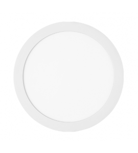 Painel LED embutir redondo 24W 3000K 29,8cm Stella