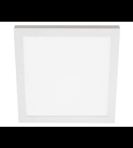 Painel LED sobrepor quadrado 40W 3000K - Stella