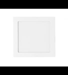 Painel LED embutir quadrado branco 18W 4000K 20cm - Stella