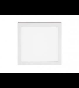 Painel LED sobrepor quadrado 18W 3000K - Stella
