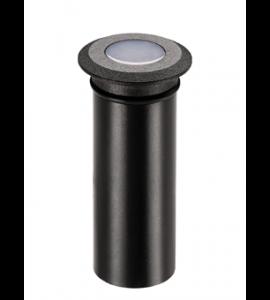 Balizador de solo Mini Spur 0,5W 2700K preto Stella