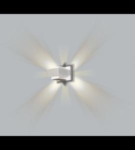 Arandela Tubo Drops retangular 1xG9 BT