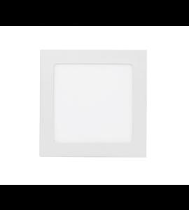 Painel LED embutir quadrado 12W 4000K 17cm Stella