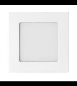Painel LED embutir quadrado 6W 3000K 12,8x12,8cm - Stella