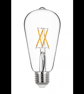 Lâmpada ST64 filamento LED 4W 2700K - Stella