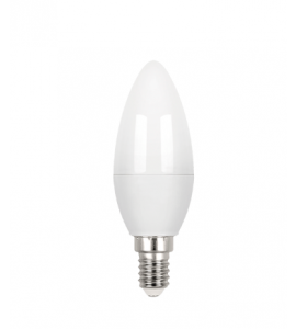 Lâmpada Vela fosca LED E14 3W 3000K - Stella