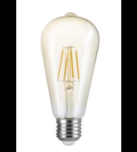Lâmpada ST64 filamento vintage 4W 2200K Save Energy