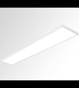 Painel LED sobrepor retangular 50W 3000K 30x120 Bella
