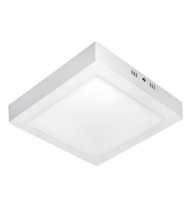 Painel LED Sobrepor quadrado 20W 3000K 22,5x22,5cm - Save energy